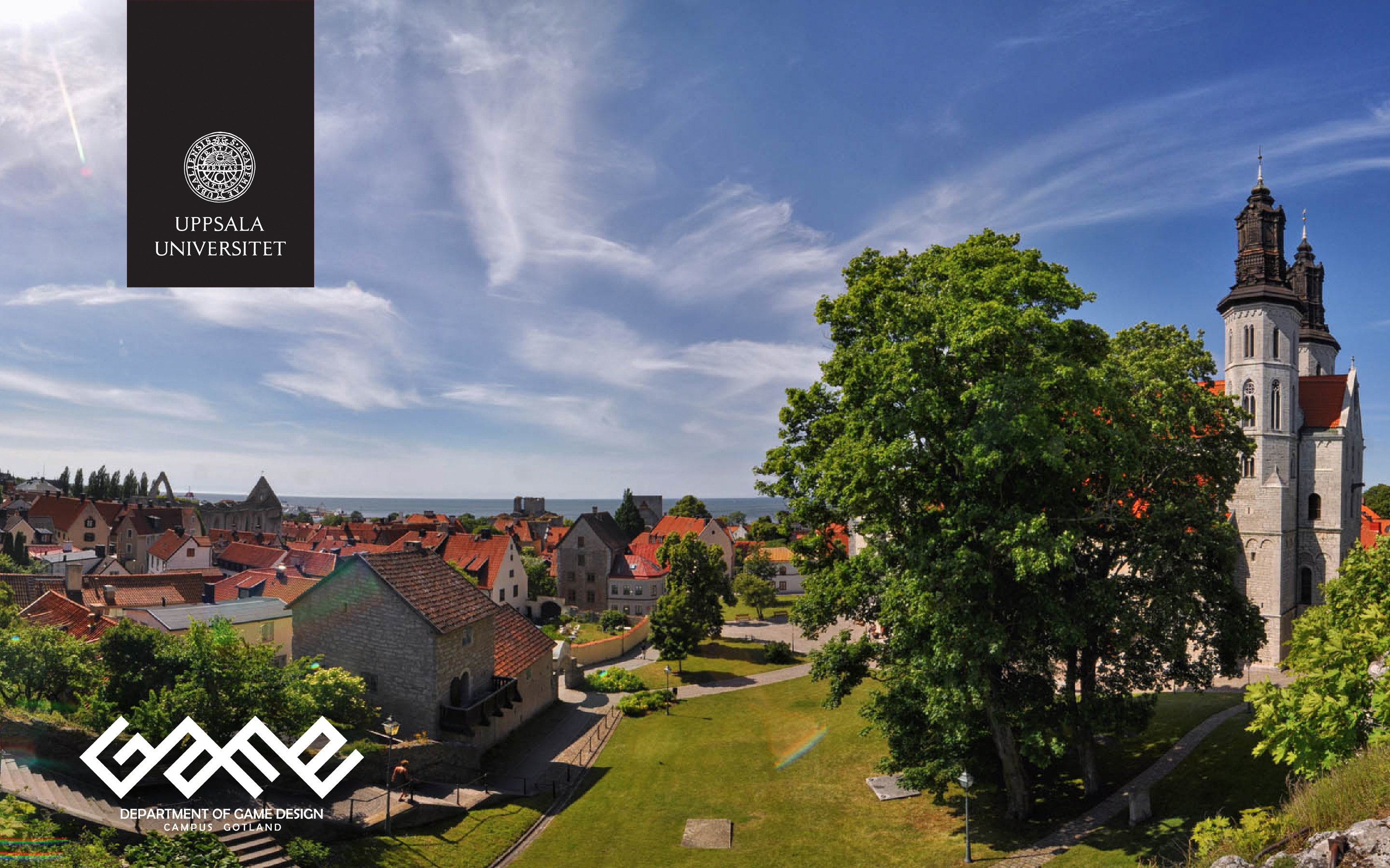 Overview of Visby city